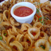 Calamari with Chutney