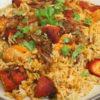 Manvirro's Tandoori Chicken Byriani